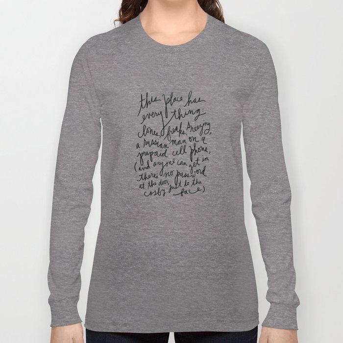 New York's Hottest Club... Long Sleeve T-shirt