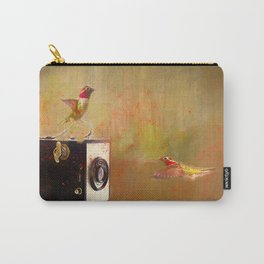 Hummingbird Photo Shoot Carry-All Pouch