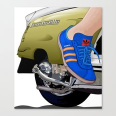 Kick off in style Canvas Print