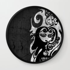 Cosmic Soup - Before Consciousness  Takes Form Wall Clock