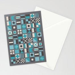Nautical Flags Alphabet Stationery Cards