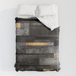 Urban Black & Gold Bettbezug
