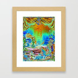 A Pirate's Life For Me-Electric Framed Art Print