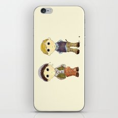 The Twins: Hugo & Harry iPhone & iPod Skin