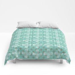 Emerald Twist Comforters