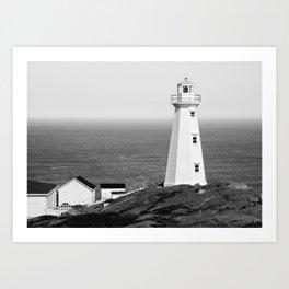 Cape Spear Lighthouse No.2 Art Print