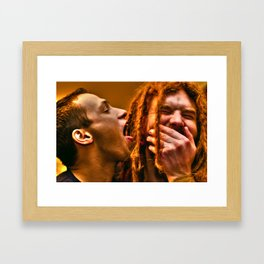 No Homo Framed Art Print