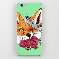 Queen Fox You Have My Heart iPhone & iPod Skin