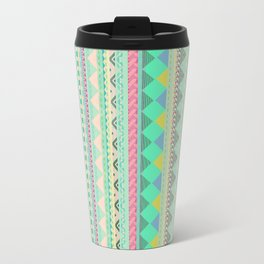 PASTEL AZTEC Travel Mug