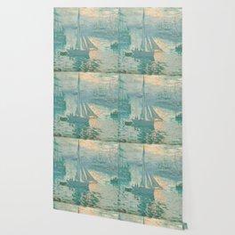 Claude Monet Marine Sunrise 1873 Wallpaper