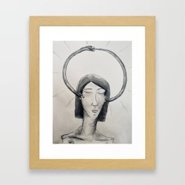 Continual Framed Art Print