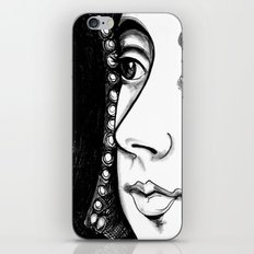 Queen Anne Boleyn Portrait  iPhone & iPod Skin
