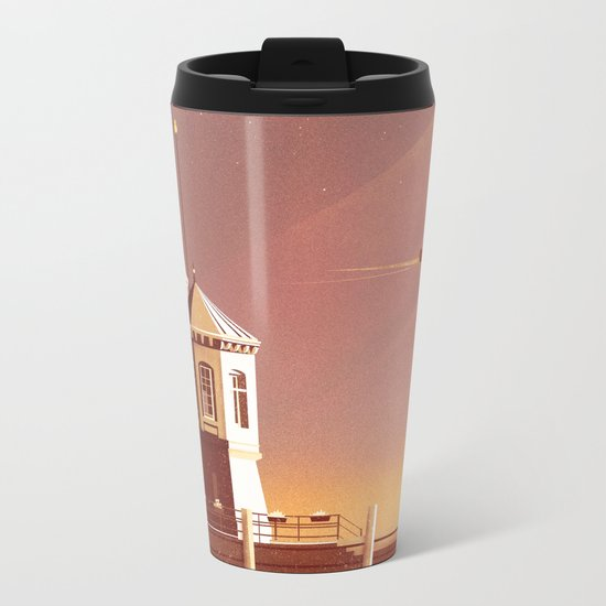 Let Go Metal Travel Mug