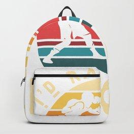 I'd rather be boxing - Boxer Vintage Backpack