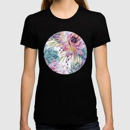 FLOWERS WATERCOLOR 19 T-shirt