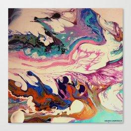 earth intruders Canvas Print