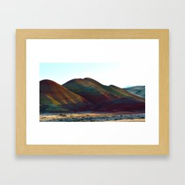 painted hills Oregon Framed Art Print