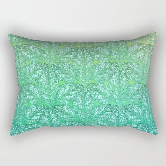 Leaf Skeletons #4 Rectangular Pillow