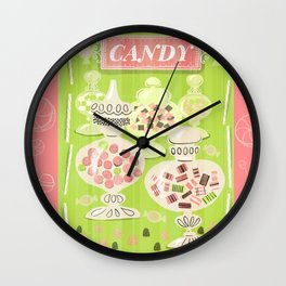 Sweets For The Sweet Wall Clock