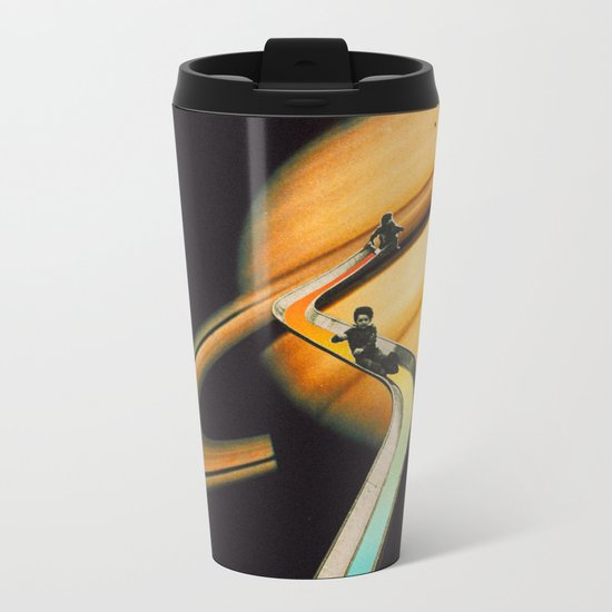 Saturn escape Metal Travel Mug