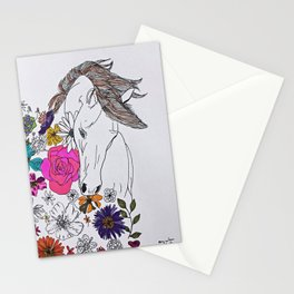 run away, spirit Stationery Cards