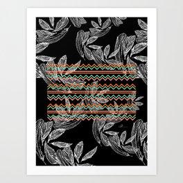 Plume 6 Art Print