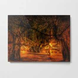 Lahaina Banyan Tree Metal Print