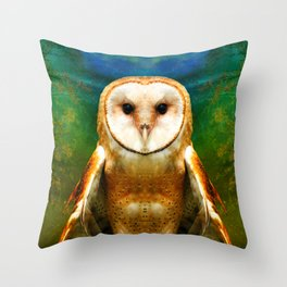 Her Memory Enshrouds My Heart (brighter version) Throw Pillow