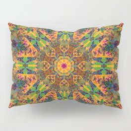 Mandala Glitch Amsterdam Pillow Sham
