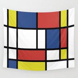 Mondrian 2 Wall Tapestry