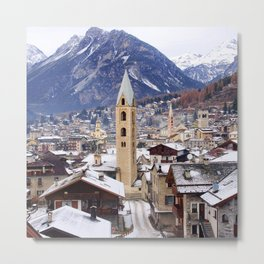Mountain photo Metal Print