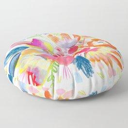 Desert Flowers Floor Pillow