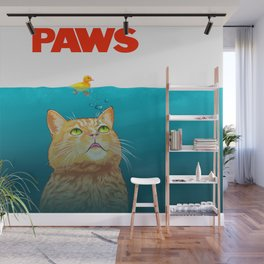 Paws! Wall Mural