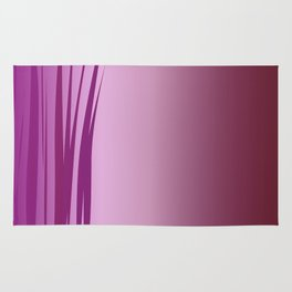 design wild lines ethnic pink Rug