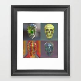 Skull Collection 05 Framed Art Print