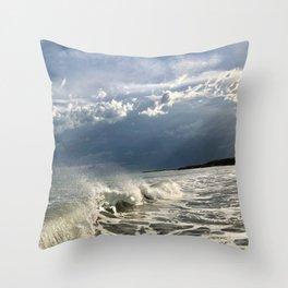 Sea Mare Mar Meer Mer Throw Pillow
