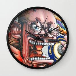 Graffiti singer Wall Clock