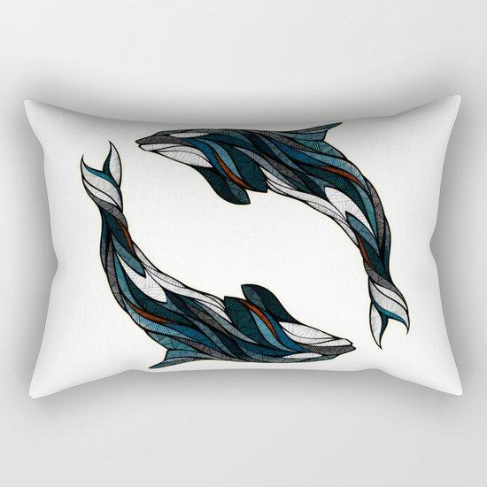 Converge Rectangular Pillow