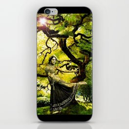 Beneath the Bodhi Tree iPhone Skin