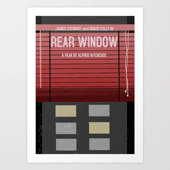 Rear Window Art Print