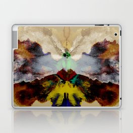 the peacock and the crane Laptop & iPad Skin