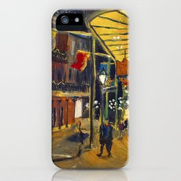 Nola at Night iPhone Case