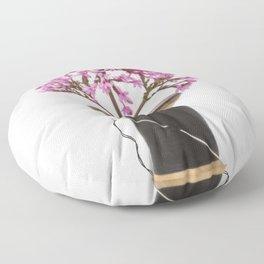 Wooden Vase Floor Pillow