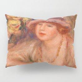 Pierre-Auguste Renoir - Woman Leaning (Femme accoudée) Pillow Sham