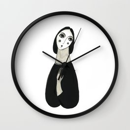 Oh so lady Wall Clock