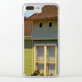 Twin Peep Holes Clear iPhone Case