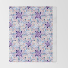 Jess Abstract Painting Throw Blanket