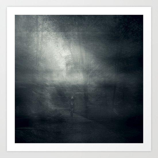 Shadow Walker Art Print