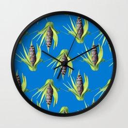 Jewel Corn Wall Clock