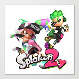 Splatoon 2 Canvas Print